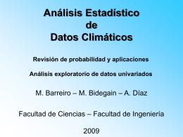AnaExploratorio - Departamento de Ciencias de la Atmósfera