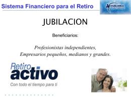 PRESENTACION DE VENTAS Retiro Activo