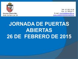 2º ESO - Colegio Cristo Rey Madrid