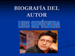 BIOGRAFÍA DEL AUTOR - Colegio Monte de Asís