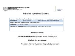 GuÃaNº 1__Artes Visuales__LCCP_3º medio electivo