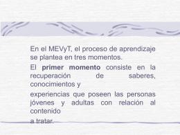 Metodología MEVyT.