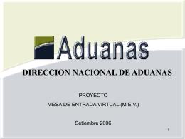 MOMENTO DE PRESENTACIÓN DE LOS DUAs VERDES