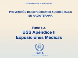 1.2 BSS Apéndice II exposiciones medicas