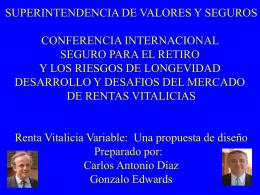 Sin título de diapositiva - Superintendencia de Valores y Seguros