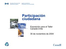 Presentation 2 Public Participation - Español