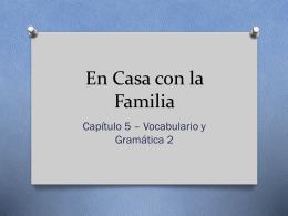 En Casa con la Familia