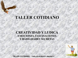 Taller cotidiano