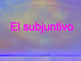 Otros usos del subjuntivo
