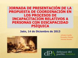 Presentación del Documento por miembros de la Comisión redactora