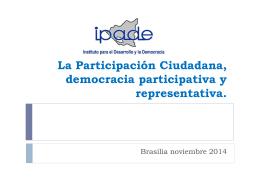 La Participación Ciudadana en Nicaragua