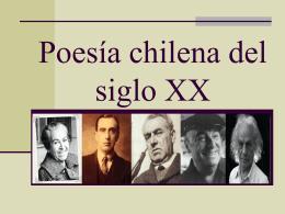 Poesía Chilena SXX