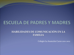 comunicacion - Colegio La Asunción de León