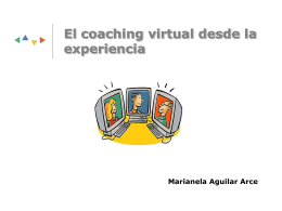 El coaching virtual desde la experiencia