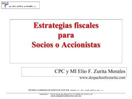 Presentación de PowerPoint - Despacho CP Elio T. Zurita y Asociados