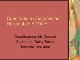 Cuenta del Coordinación Nacional de EDOCH