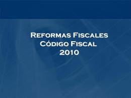 REFORMA 2010 CODIGO FISCAL