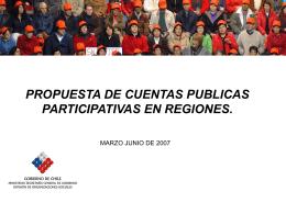 programa cuentas publicas participativas