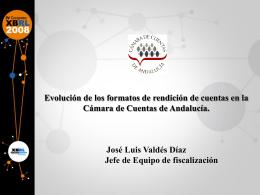D. José Luis Valdés - Asociación XBRL España
