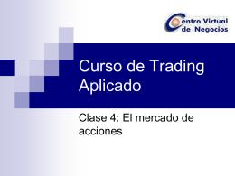 Curso de Trading Aplicado - Universidad Sergio Arboleda