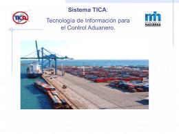 TICA - Generalidades - Sistemas