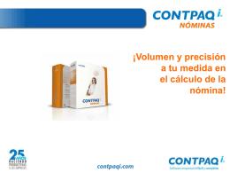 ¡Volumen y precisión a tu medida en el cálculo de la nómina!