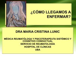 Psicoeducación en Reumatologia Dra MC Lunic