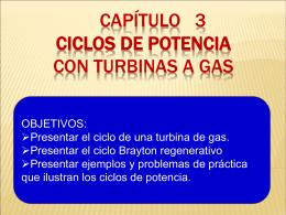 ciclos de potencia con gas