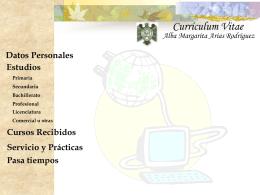 Cursos Recibidos - Universidad de Colima