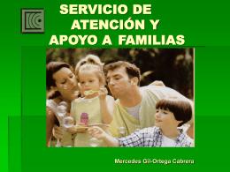 PROGRAMA DE ATENCIÓN Y APOYO A FAMILIAS (SAAF)