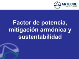 Factor de potencia, distorsión armónica y emisiones de CO2