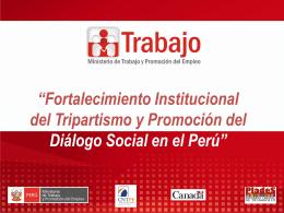 2da Diapositiva. - Dirección Regional de Trabajo y Promoción del