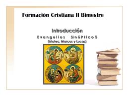 Introduccin - Portal Formacion Cristiana 9noGrado