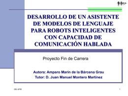 presentacion29sept - Grupo de Tecnología del Habla