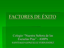 EL FRACASO ESCOLAR - Escuelas Pías de Aluche / Escolapios
