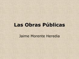Las obras Públicas - IES Fuente de la Peña