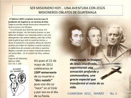 Diapositiva 1 - Misioneros Oblatos de María Inmaculada