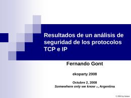 ppt - Fernando Gont
