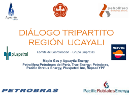 Presentación Grupo Empresas Ucayali