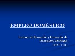 iprofoth - Congreso de la República del Perú