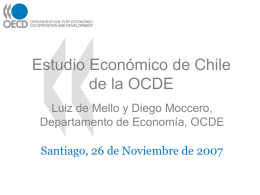 OECD Economic Survey of Chile