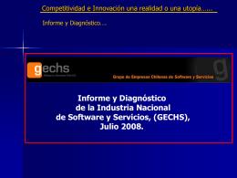 (GECHS), Julio 2008. - Universidad de La Serena