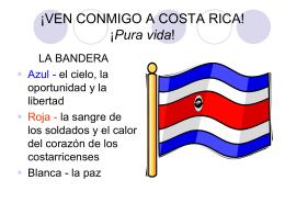 ¡VEN CONMIGO A COSTA RICA!
