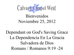 Romanos 9:19-21 - Calvary Chapel West