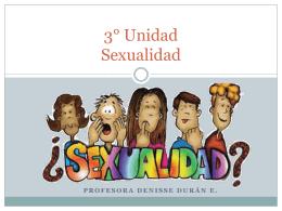 3°Unidad_ sexualidad - Colegio Aurora de Chile SUR