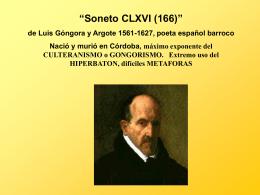 Spanish V AP Gongora y Argote (5927936)