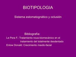 biotipos masticatorios