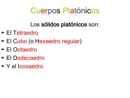 Cuerpos Platónicos