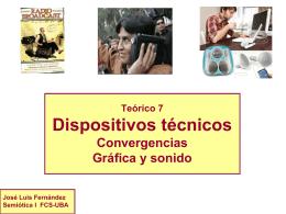 PPT Teórico Dispositivos - Semiótica I – Fernández