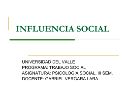 influencia_social - Campus Virtual